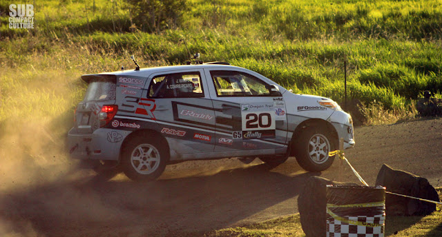 Scion xD rally car at 2013 Oregon Trail Rally
