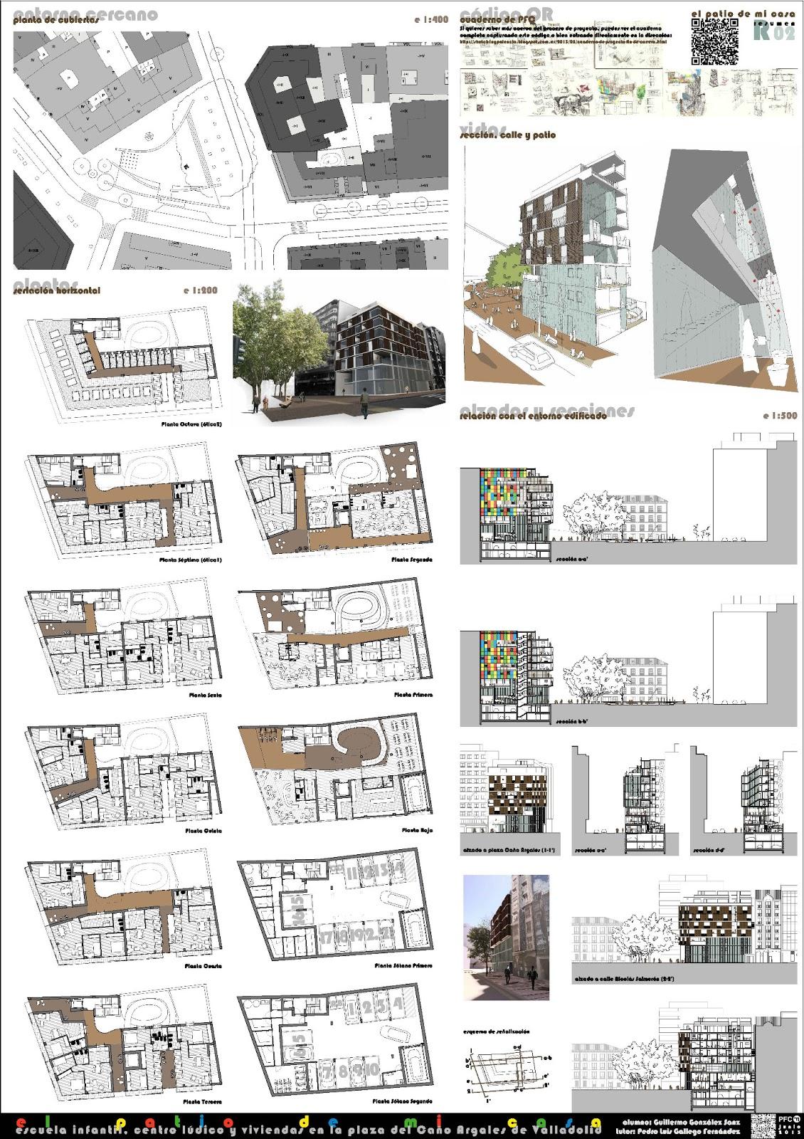 Sketch ing palencia proyecto fin de carrera for Memoria descriptiva arquitectura