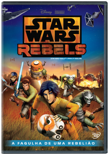 Download Star Wars Rebels: A Fagulha de uma Rebelião DVDRip AVI + RMVB Dublado