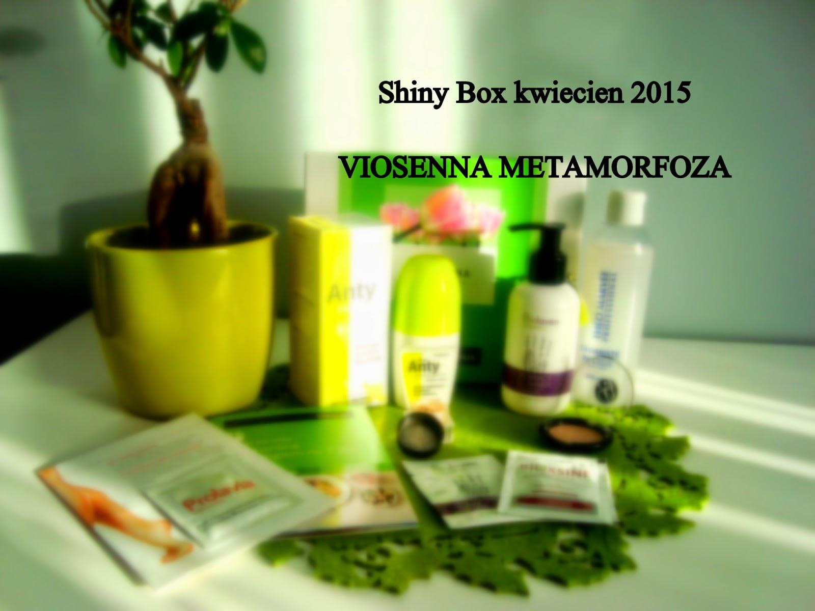 Shiny Box kwiecień 2015 - Viosenna Metamorfoza