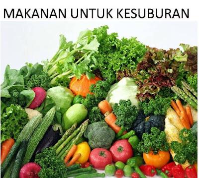 makanan untuk kesuburan pria wanita