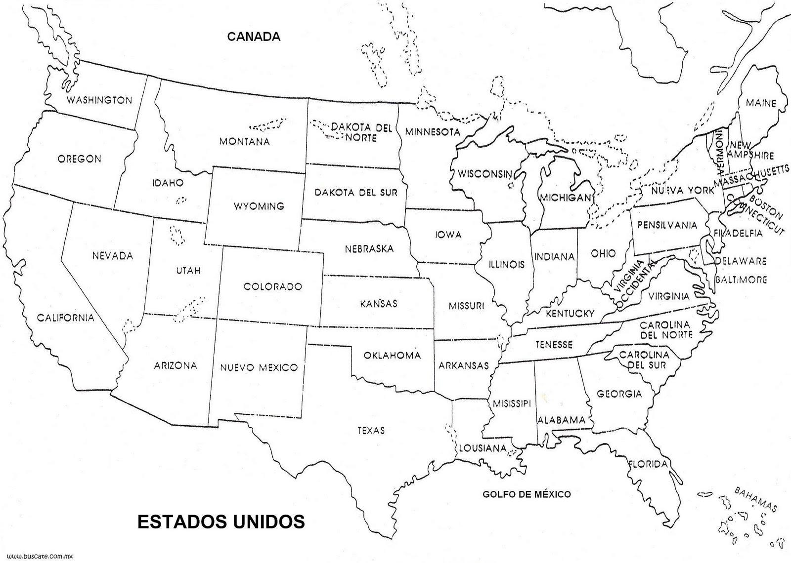 ingles en estados unidos: