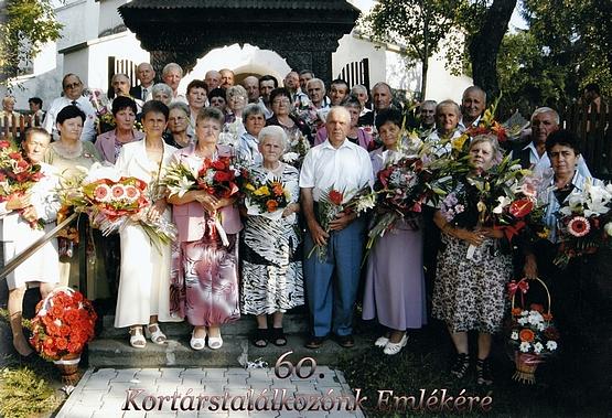 60 éves kortárstalálkozó - Alsósófalva, 2012