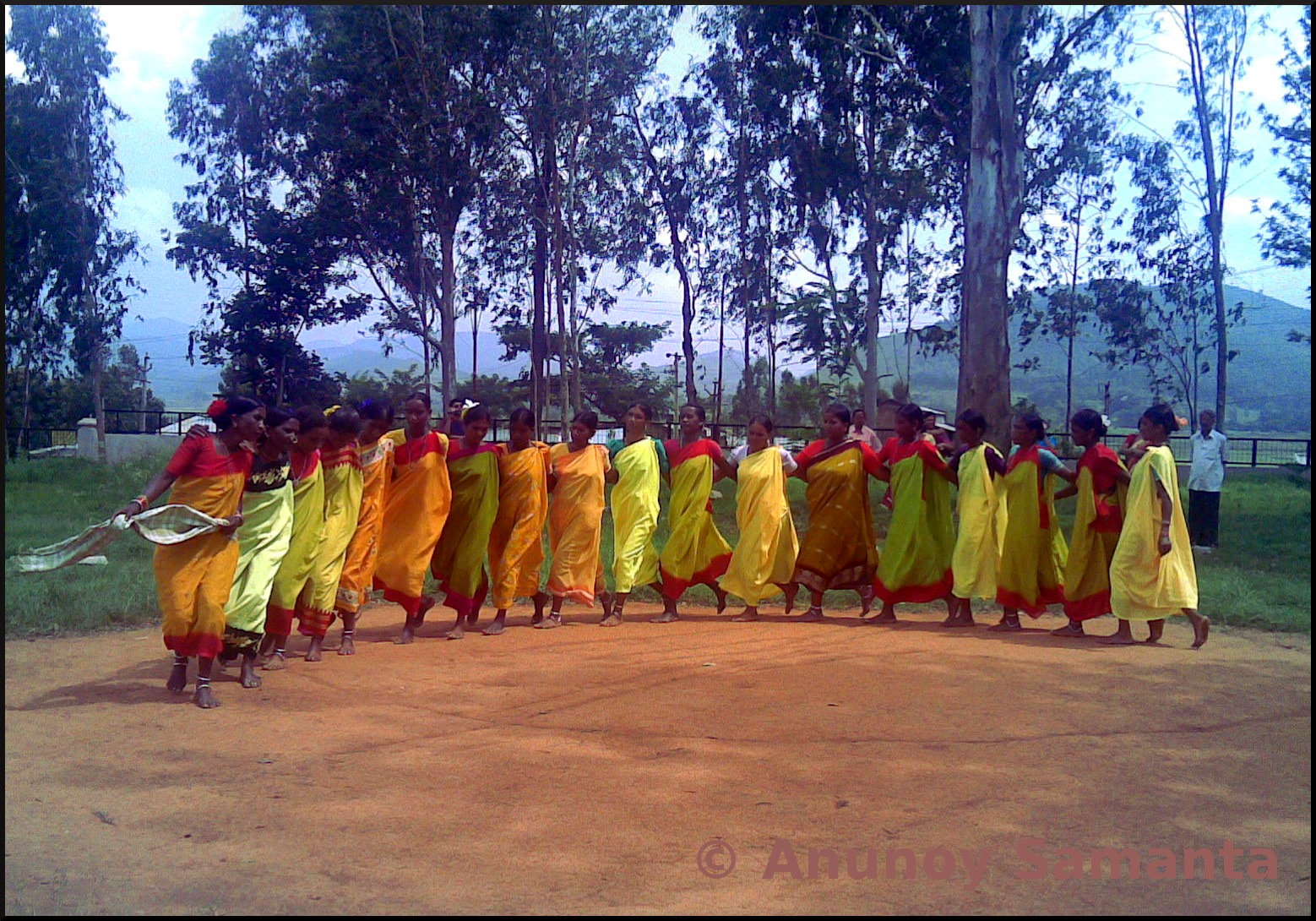 Dhimsa Dance by Tribal Women at Araku Valley