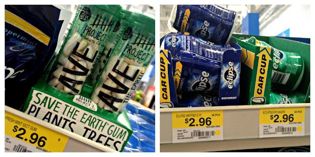 Project 7 gum cost comparison, Project 7 gum Walmart, #Cbias, save the earth gum