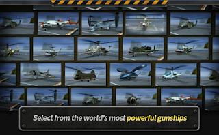 GUNSHIP BATTLE : Helicopter 3D v2.1.5 Apk + Data