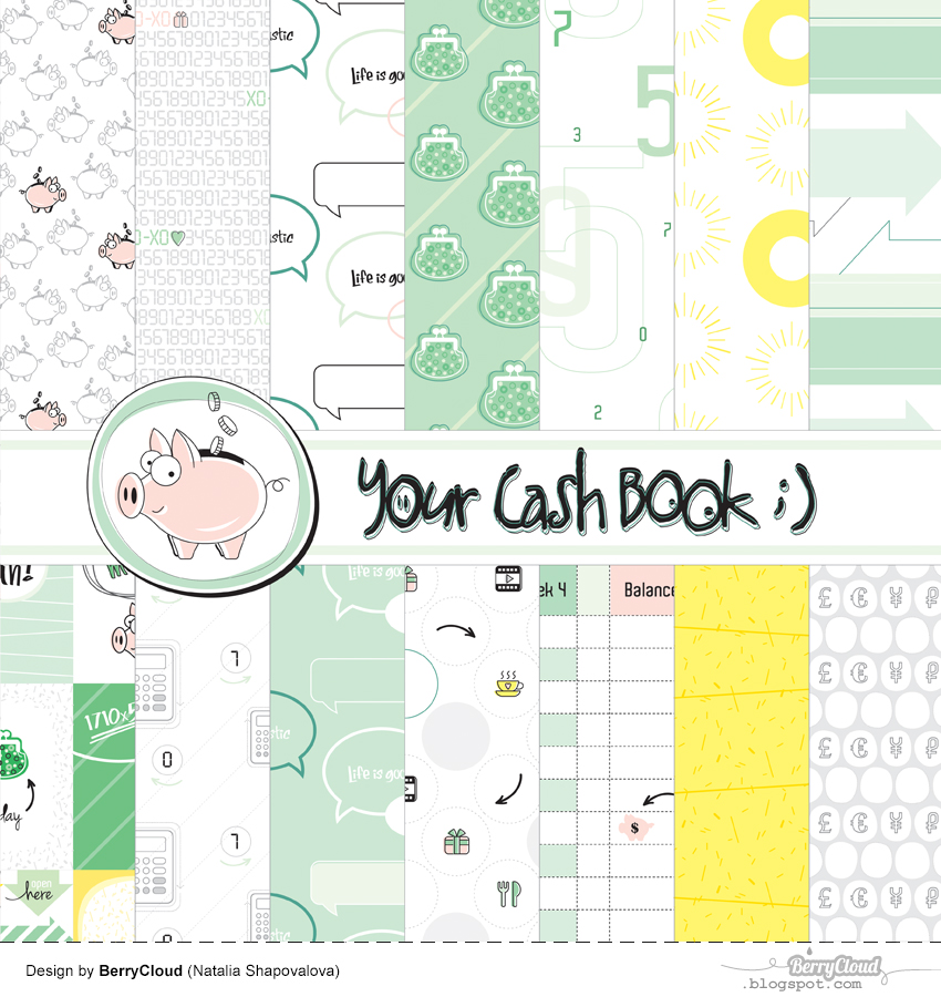 My design collection Cash Book