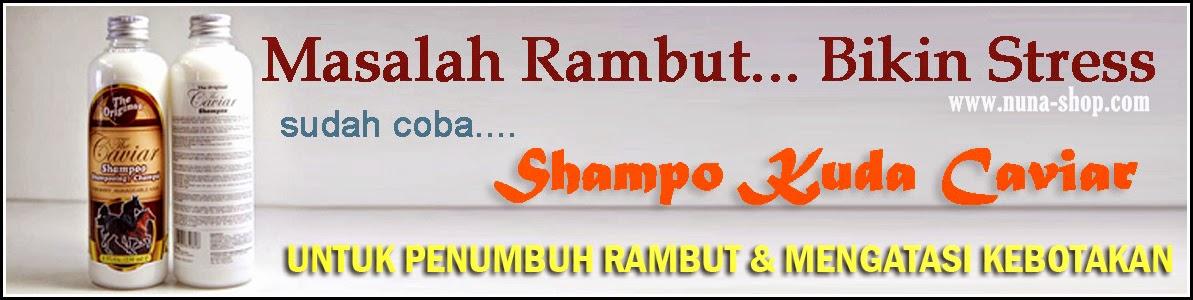 Shampo Kuda The Caviar Shampoo Original Untuk Penumbuh Rambut