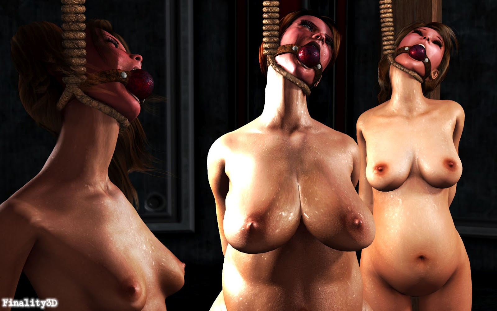 execution nude female