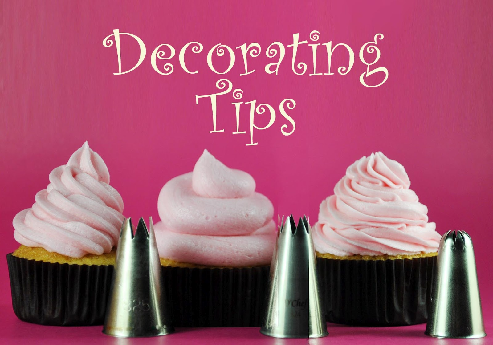 Cupcake Decorating 101 Cupcake Decorating Tips