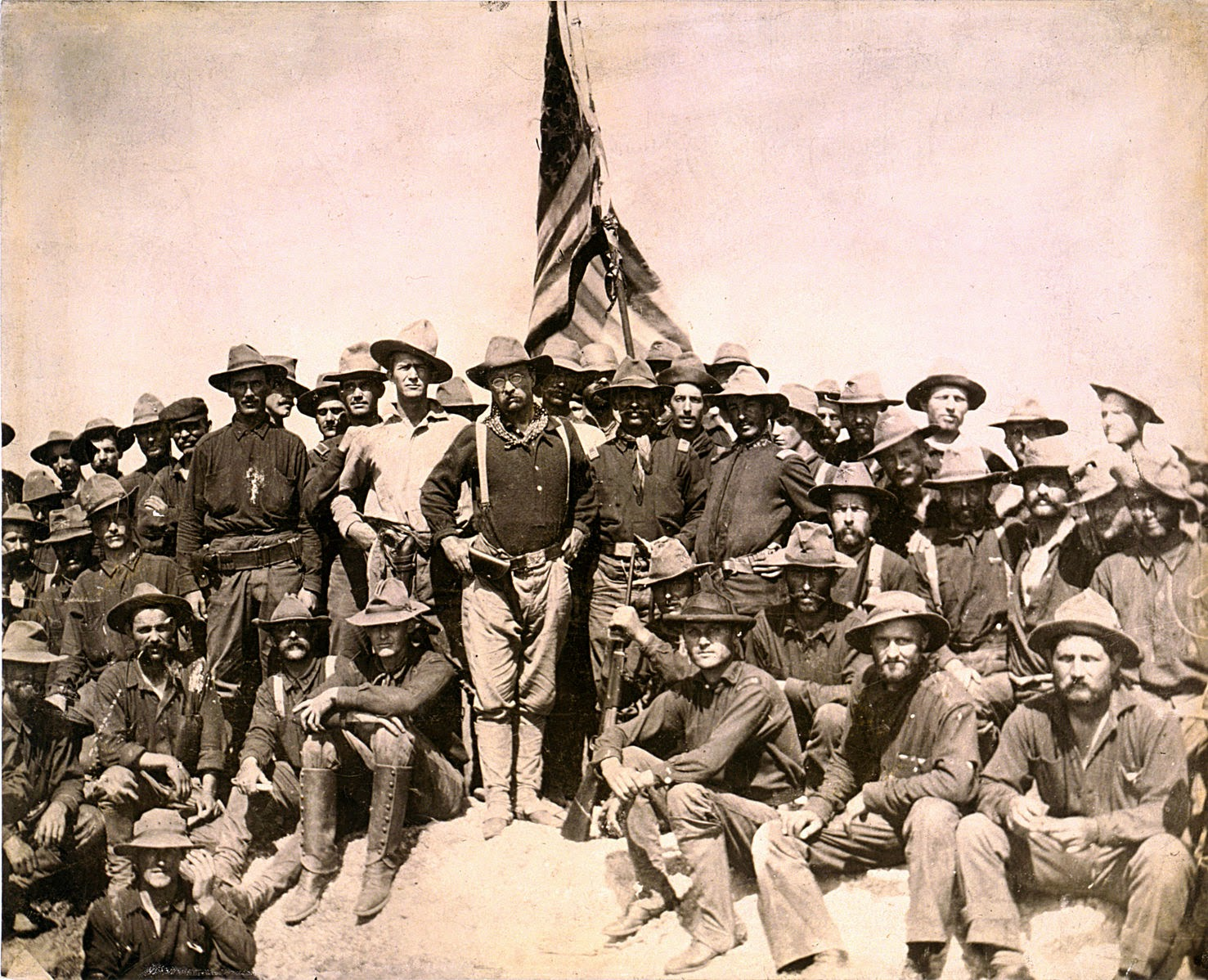 Teddy Roosevelt Rough Riders