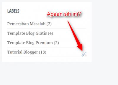 Cara Menghilangkan Icon Obeng dan Tang di Blogger