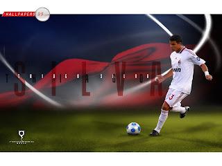 Thiago Silva AC Milan Wallpaper 2011 3