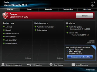 Internet Security 2012 is a Fake Antivirus Software