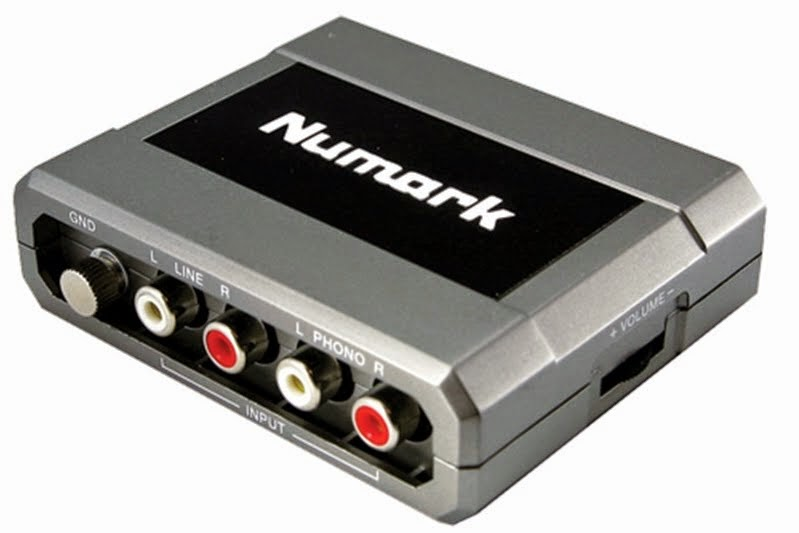Soundcard usb Murah untuk DJ, Numark Stereo