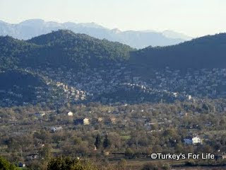 Kayakoy from Fethiye Turkey