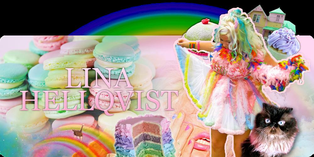 LINA HELLQVIST - Härlig är jorden!: Fashion REJNBÅW!