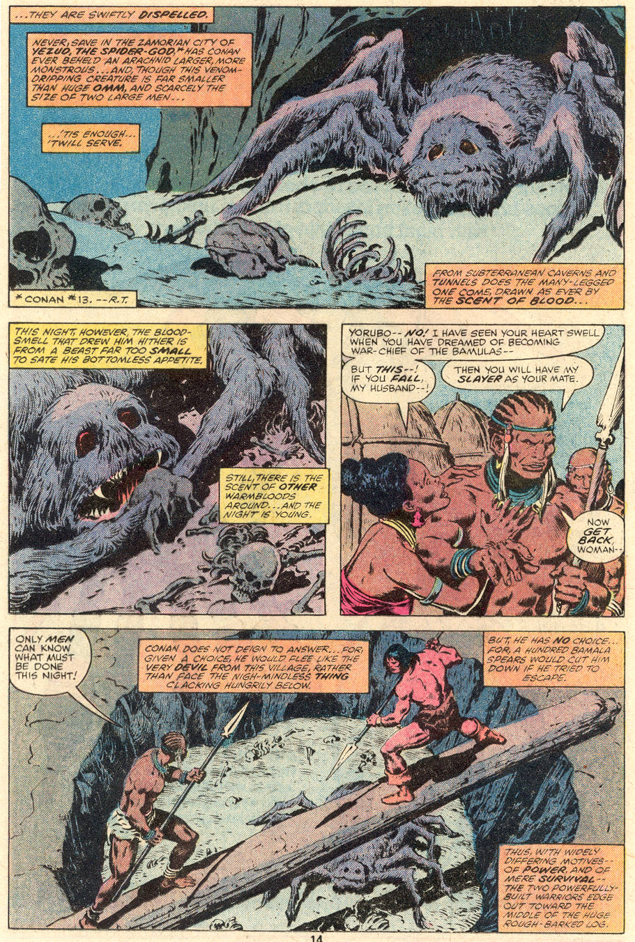 Conan the Barbarian (1970) Issue #101 #113 - English 10