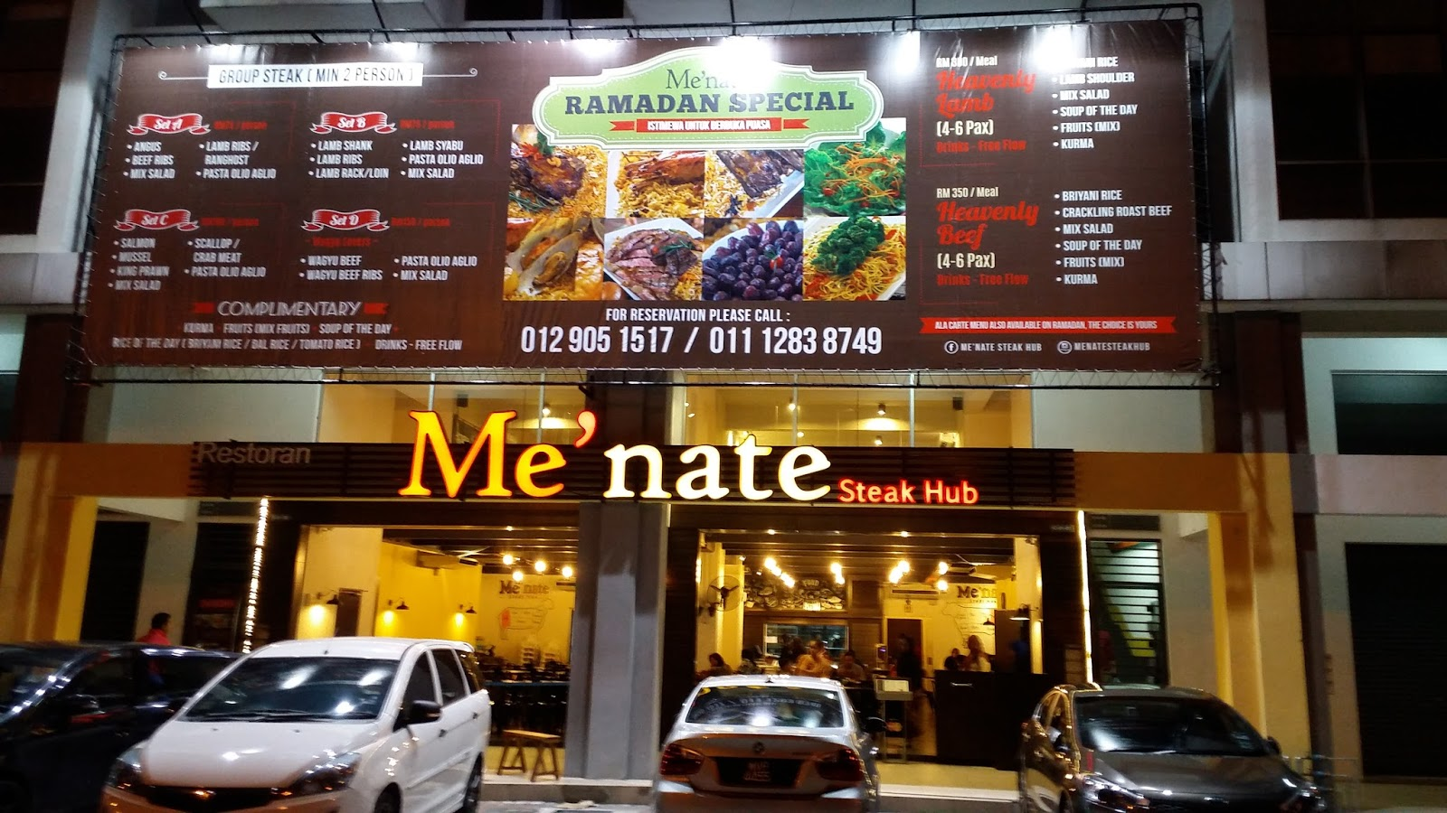 Istimewa Ramadhan di Me'nate Steak Hub