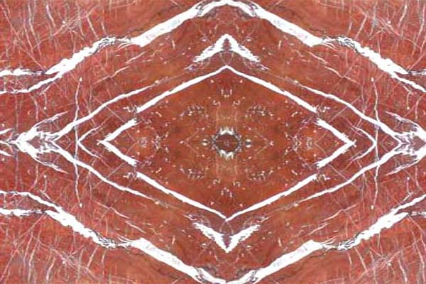 2 Red Marbles : Kishangarh marble red