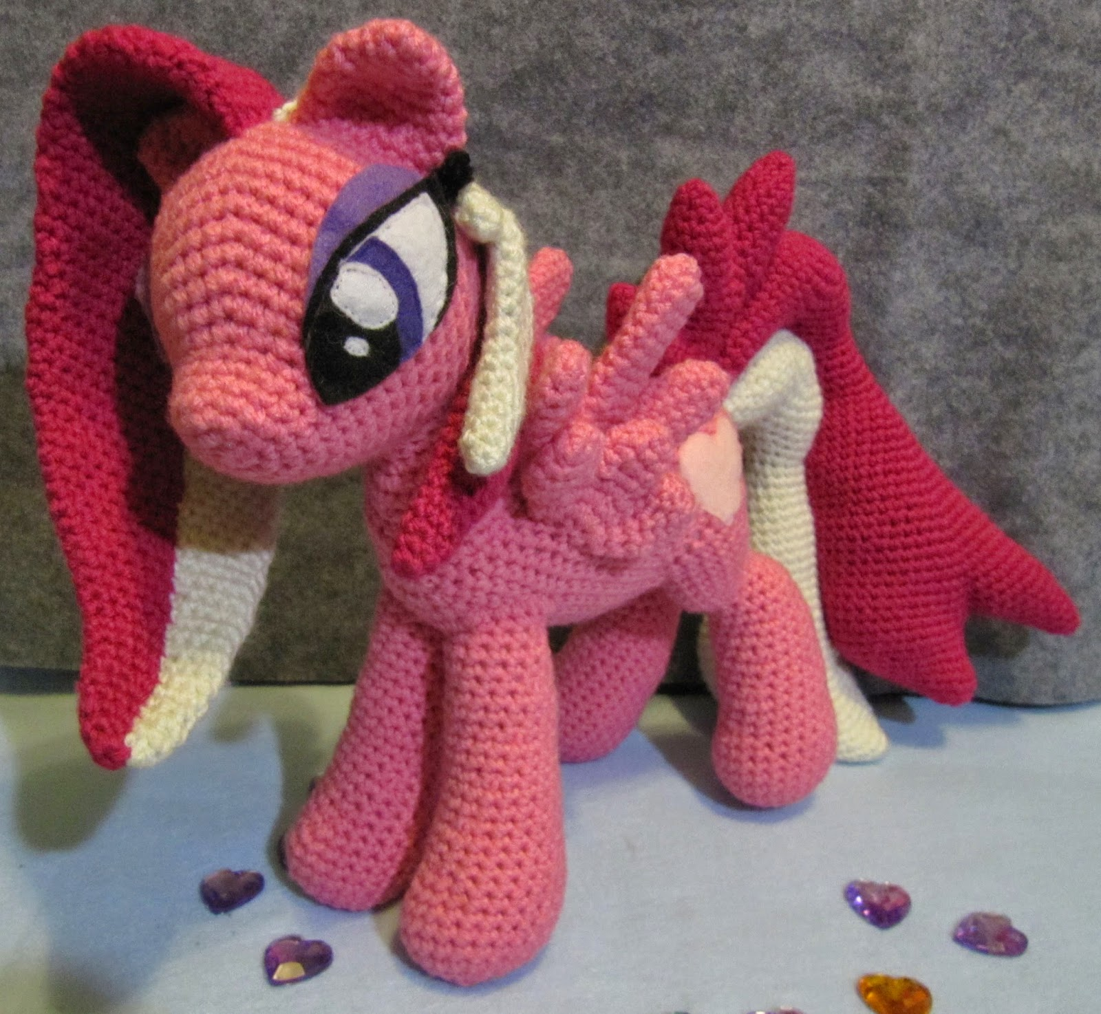 Free Crochet Pattern For My Little Pony Eyes : Nerdy Knitter Designs