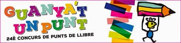 CONCURS DE PUNTS DE LLIBRE GUANYA'T UN PUNT