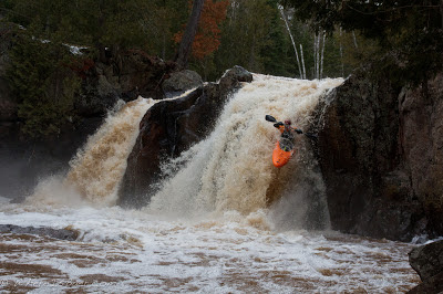 John McConville, dialing in the first descent of Cabin Fever, Chris Baer, Minnesota,