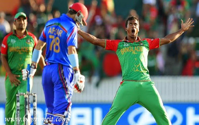 During Bangladesh Vs Afghanistan in world cup 2015