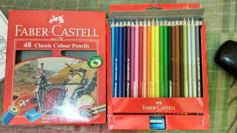 Pilih Spidol atau Pensil Warna untuk Mewarnai