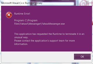 stops working Runtime