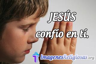 Imagenes Religiosas para imprimir Jesús Confío en Tí