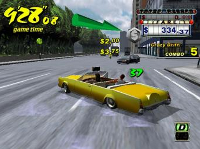 Crazy Taxi 2 Game for PC Free Download in Full Version