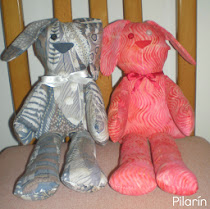The Red Boot Quilt Company - Buster the Bunny