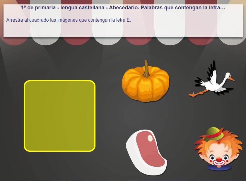 http://www.mundoprimaria.com/juegos/lenguaje/vocabulario/1-primaria/220-juego-contener-letra-abecedario/index.php