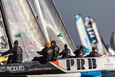 Belle 4e place de Vincent Riou et GPEN en Diam 24.