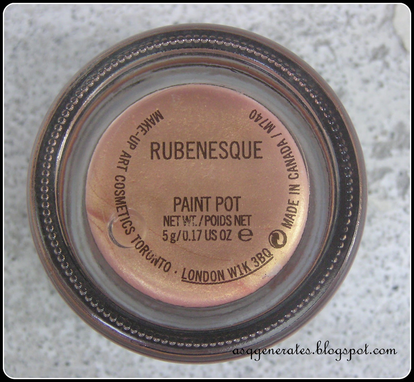 Day 6 Review Mac Cosmetics Rubenesque Paint Pot