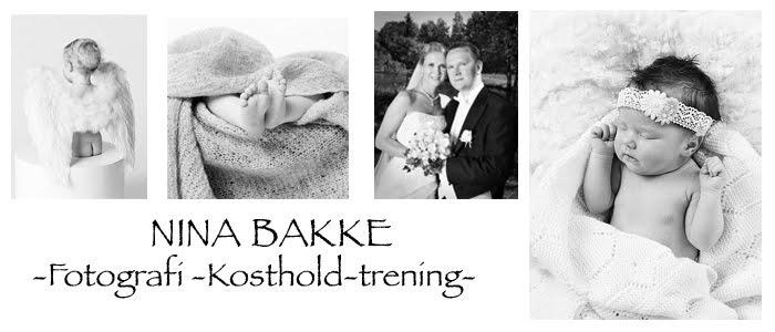 Nina Bakke - Fotografi,  Kosthold og trening