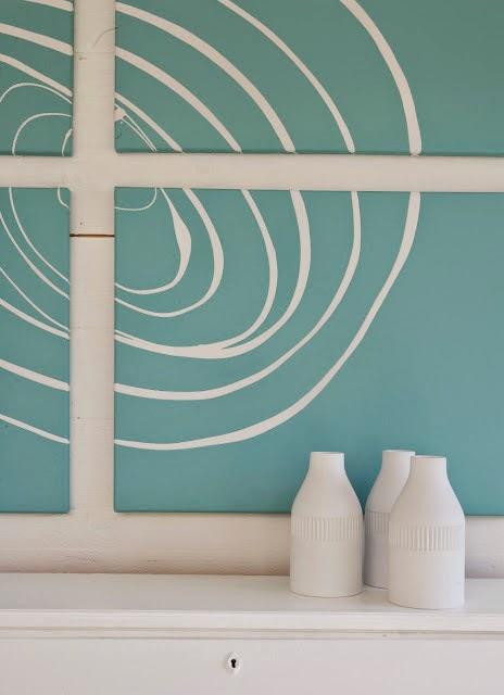 Un sencillo DIY para decorar una pared