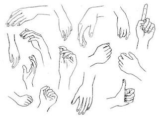 Dibujos de Manos