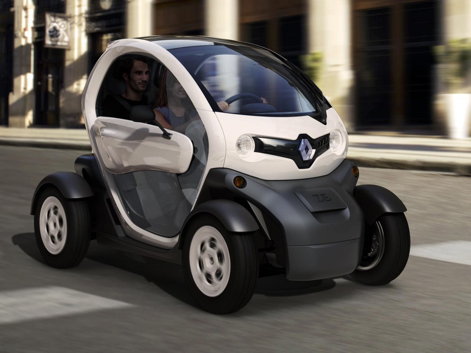 wallpapers of beautiful cars renault twizy. Black Bedroom Furniture Sets. Home Design Ideas