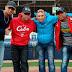 Gurriel, Bell, Jiménez y Manduley llegan a Canadá y visitan estadio de los Capitales de Quebec