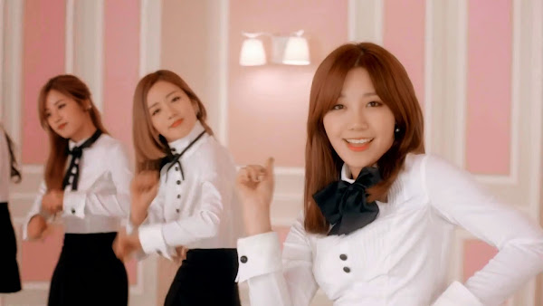 A pink Mr Chu Japanese Eunji