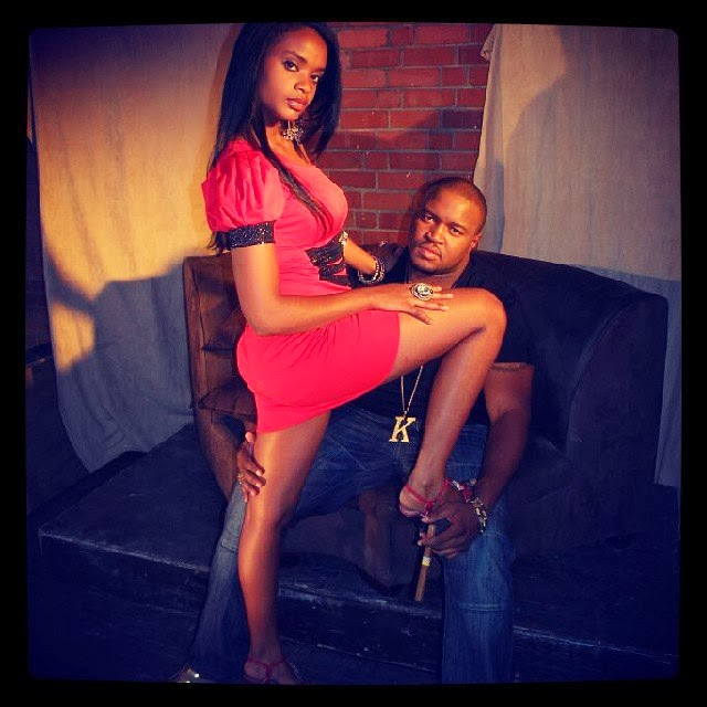 Dillish shared this picture of herself and boyfriend Steve two days ...