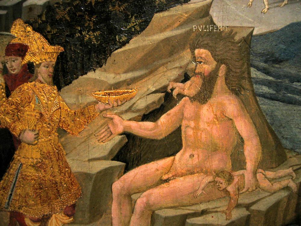 odysseus cyclop di giovanni