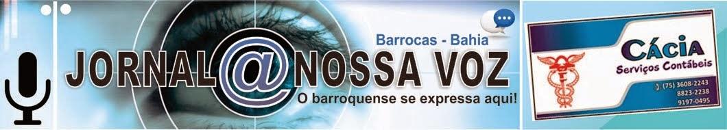 JORNAL @ NOSSA VOZ - BARROCAS - BA