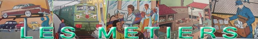 Affiches scolaires : Les métiers