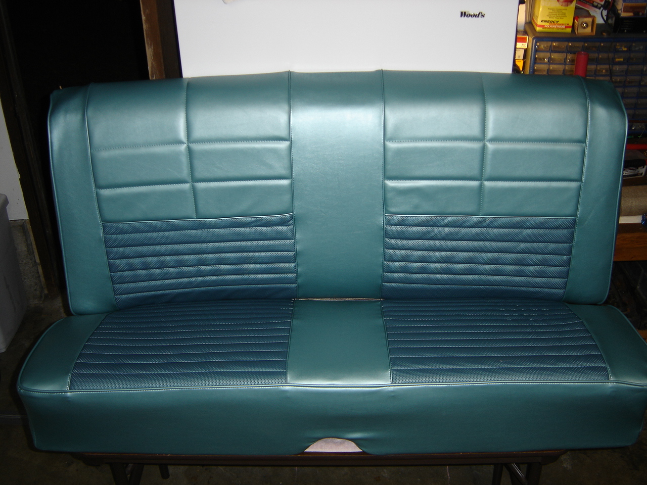 1966 Ford Fairlane 500 Rear Seat