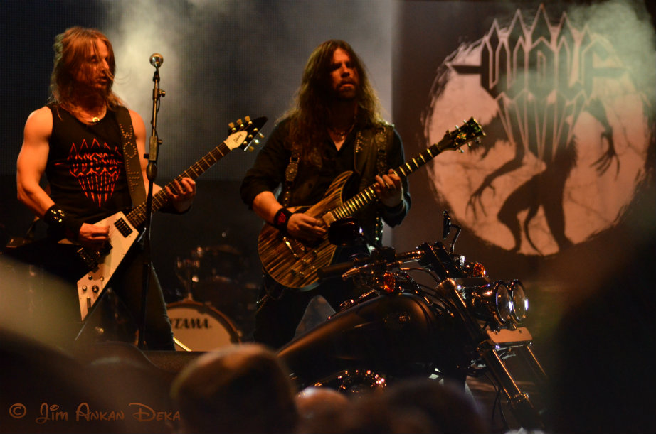Wolf, the Swedish metal Band at Harley Rock Riders, Bangalore - Jim Ankan photography