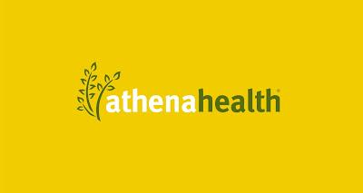 athenahealth logo rgb green white