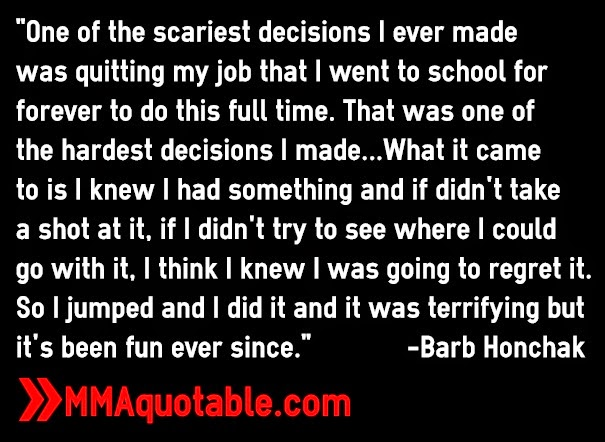 quotes by barb honchak like success